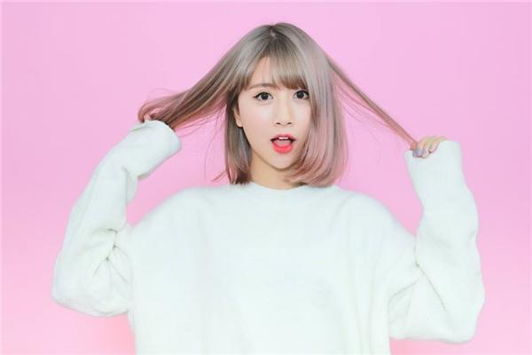 Tông màu nhuộm pastel sẽ khiến mái tóc của bạn đãđẹp càng thêm đẹp đấy.