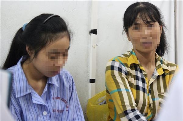 Chị Hạnh và con gái tên Trần Thị Lệ Hà.
