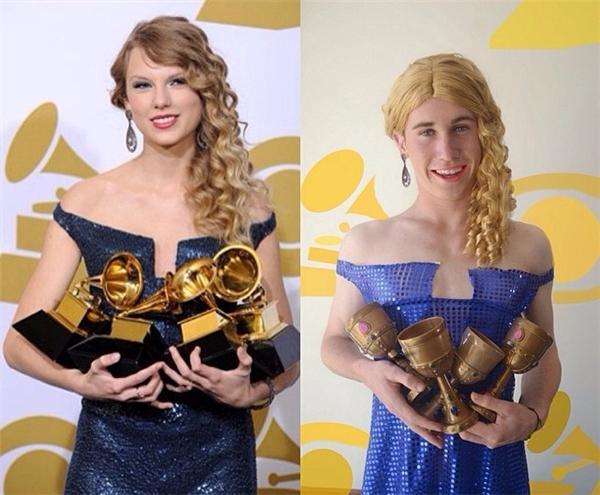 Thế này đã đủ tiêu chuẩn kết nạp vào hội chị em bạn dì với Taylor Swift chưa nhỉ?