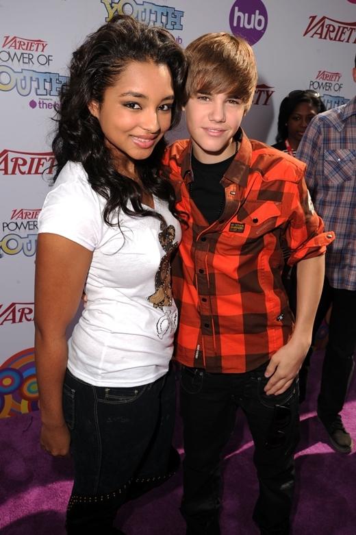 Justin và Jessica năm 2010.