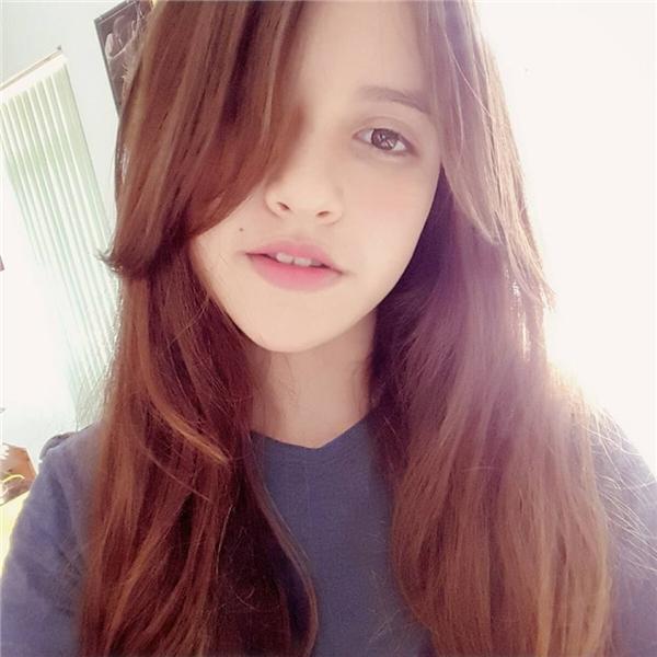 Với gương mặt đậm chất Tây này, ít ai nghĩ đây là một cô gái gốc Việt.