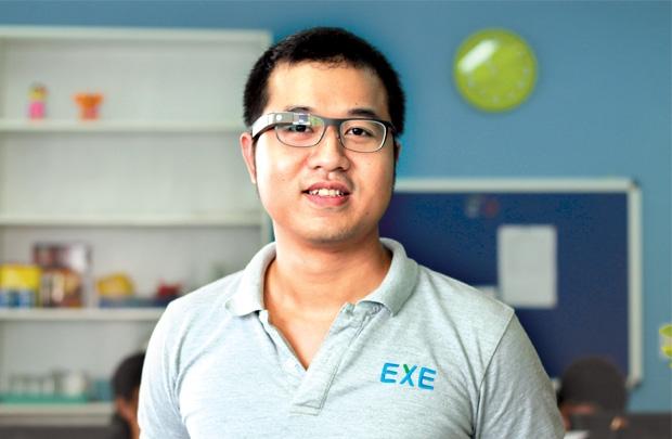 Anh Nguyễn Hữu Quang - Giám đốc công ty EXElà một trong những tấm gương start-up trong lĩnh vực công nghệ, phần mềm được nhiều bạn trẻ noi theo.
