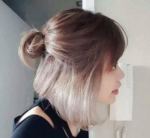 Kiểu tóc này hot vì sự lạ mắt nó mang lại.