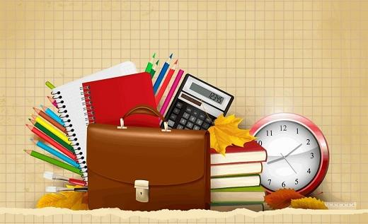 Những vật dụng cần thiết cho năm học mới.
