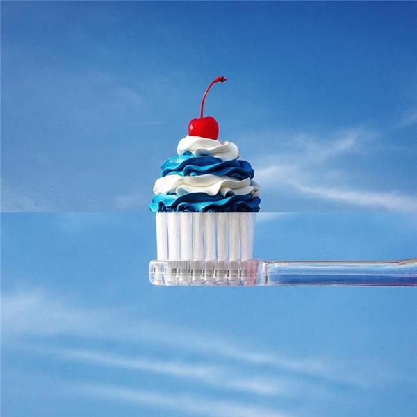 Chưa bao giờ kem đánh răng lại hấp dẫn đến thế này.