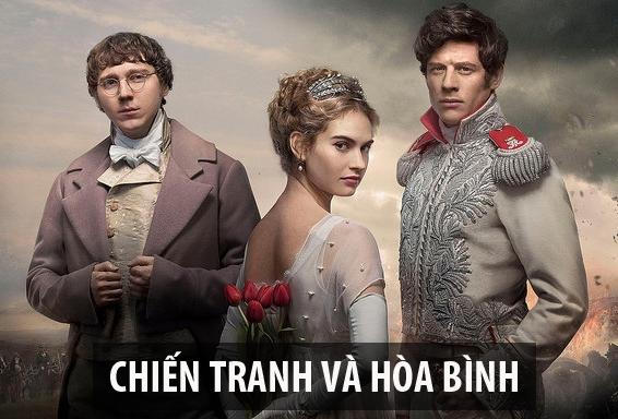Chiến tranh và hòa bình chuyển thể từ tác phẩm nổi tiếng cùng tên của đại văn hào Lev Tolstoy. Vì nguyên gốc tiểu thuyết có rất nhiều nhân vật nên bộ phim đãlược giản còn3 nhân vật là Natasha, Pierre và Andrey. Bộ phim mô tả mối quan hệ phức tạp cũng như sự trưởng thành của họ trong giai đoạn đất nướcbị quân đội của Napoleon xâm lược. Thông điệp mà bộ phim mang đến là chiến tranh chẳng mang lại điều gì tốt đẹp.