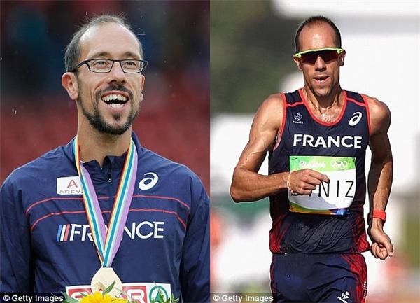 Dù là người nắm giữ kỷ lục đi bộ 50km của thế giới nhưng Yohann vẫn chưa một lần vinh dự chạm vào HC vàng Olympic.