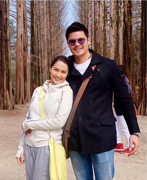 Cả hai đã có chuyến du ngoạn vui vẻ ở Hàn Quốc.