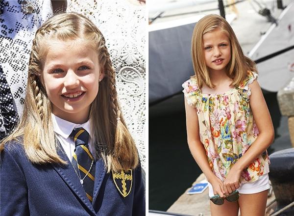 Cô công chúa nhỏ 12 tuổi là một trong những ứng cử viên sáng giá chongôi vị trong tương lai.