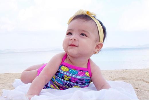"""Mỗi bức ảnh của bé Maria Letizia đều nhận về lượt thích và bình luận """"khủng""""."""