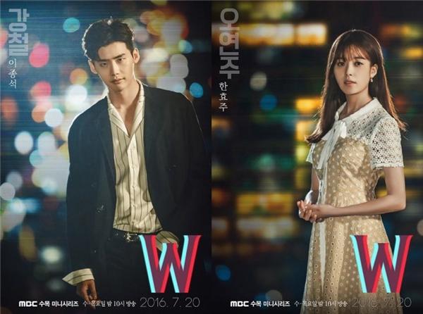 """Nội dung chính của phim xoay quanh cuộc sống của Oh Yeon Joo (Han Hyo Joo) và Kang Chul (Lee Joong Suk), họ cùng sống tại Seoul nhưng thuộc hai thế giới khác nhau. Oh Yeon Joo là con gái của họa sĩ truyện tranh nổi tiếng Oh Sung Moo và Kang Chul là nhân vật chính trong tập truyện tranh ăn khách """"W"""" do bố cô sáng tác. Trong một lần tình cờ, Oh Yeon Joo vô tình bị hút vào thế giới nơi Kang Chul sống và đã cứu mạng anh, sau đó, cô liên tục đi lại giữa hai thế giới và nhiều lần cứu Kang Chul khỏi nguy hiểm."""