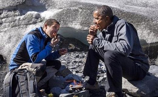 Tổng thống Mỹ Barack Obama cũng xuất hiện trong show truyền hình thực tế Chạy đua cùng thiên nhiên với nhà thám hiểm người Anh Bear Grylls (Running wild with Bear Grylls) nhằm nâng cao nhận thức của người dân về tình trạng biến đổi khí hậu.