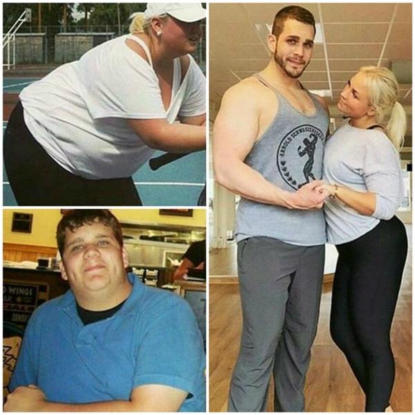Không nhận ra được họ sau khi giảm cân.