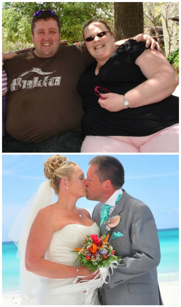 Lindsey vàWayneđã từng làmột trong những cặp đôi nặng kí nhất ở Anh. Nhưng giờ họ đã giảm được 420kg và có một đám cưới hạnh phúc ở Cuba.