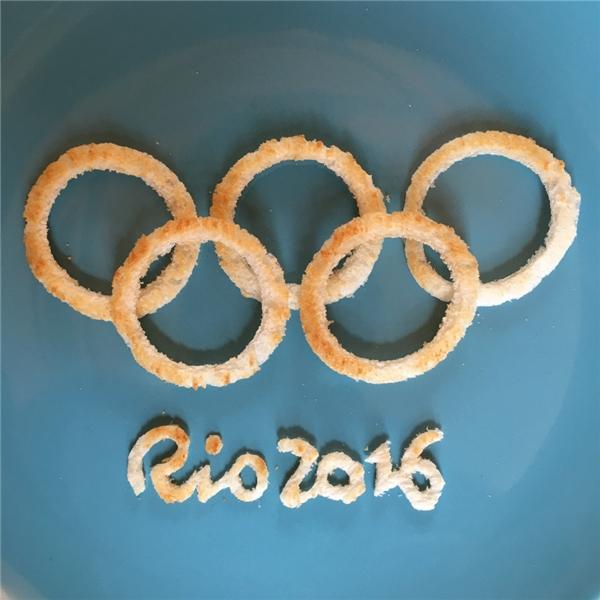 Cả biểu tượng Olympic Rio 2016. (Ảnh: Internet)