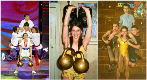 Khả năng nâng vật nặng đáng kinh ngạc của cô bé Varvara Akulova.