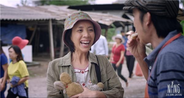 Người mẹ khờtên Mưa – vai diễn chính đầu tiên của Thu Trang trong điện ảnh