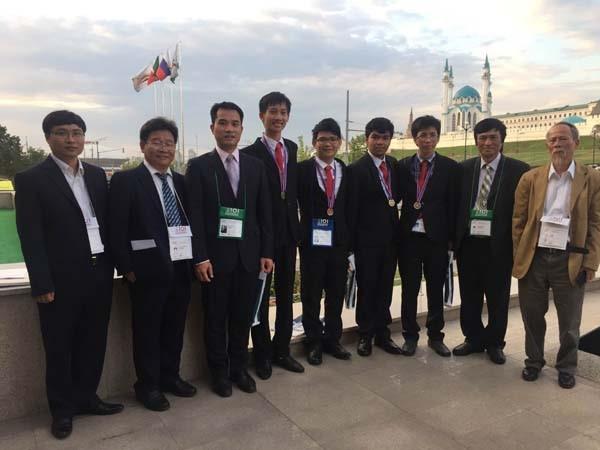 Đoàn Việt Nam giành được 2 huy chương vàng, 1 huy chương bạc và 1 huy chương đồng, xếp thứ 7 trên 81 quốc gia tham dự.