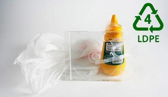 Nhựa LDPE. (Ảnh: internet)