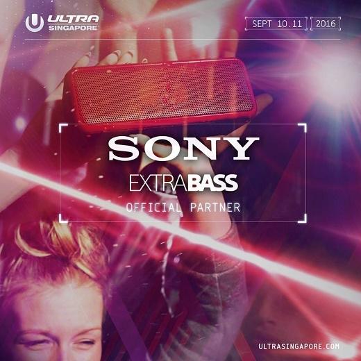 Cùng Sony quẩy tưng tháng 9 với sự kiện âm nhạc EDM ULTRASINGAPORE