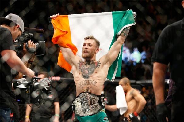Conor McGregor trở thành một cái tên hot trong làng đấu sĩ.(Ảnh: Internet)