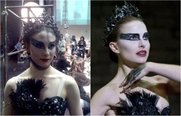 Natalie Portman (phải) & Sarah Lane, Black Swan