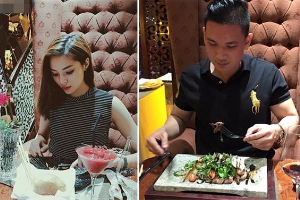 Kỳ Duyên và chàng doanh nhân trẻ thường xuyên đăng tải những hình ảnh cho thấy họ đang đi ăn cùng nhau. - Tin sao Viet - Tin tuc sao Viet - Scandal sao Viet - Tin tuc cua Sao - Tin cua Sao