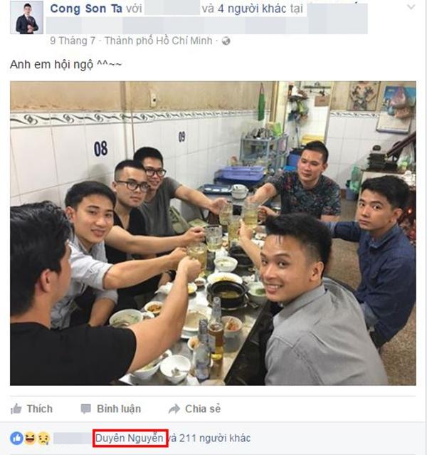 Trước đó, người đẹp Nam Định và bạn trai thường xuyên trò chuyện cùng nhau trên trang cá nhân. - Tin sao Viet - Tin tuc sao Viet - Scandal sao Viet - Tin tuc cua Sao - Tin cua Sao