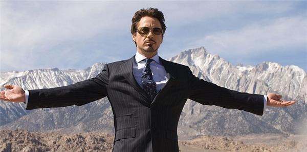 Robert Downey, Jr. trong phim Iron Man