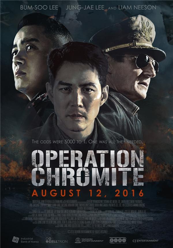 Operation Chromite là một trong những bom tấn mùa hè của điện ảnh Hàn.(Ảnh: Internet)