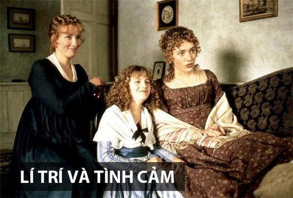 Lí trí và tình cảm chuyển thể từ một tiểu thuyết lãng mạn của nữ nhà văn Jane Austen, đượcxuất bản năm 1811 và cũng là cuốn sách đầu tay của bà. Bộ phimxoay quanh Elinor và Marianne, 2 chị em gái nhưng lại có tính cách trái ngược nhau hoàn toàn. Sau khi người cha để lại toàn bộ tài sản cho đứa con trai duy nhất,Elinor và Marianne cùng mẹ và một người em gái khác chuyển về một vùng nông thôn. Ở đó, cuộc sống chẳng mấy dư dả nhưng bù lại họ có được những trải nghiệm với đủ các cung bậc cảm xúc của tình yêu.