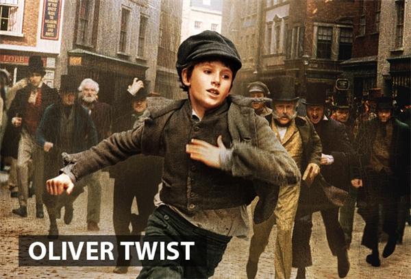 """Oliver Twistchuyển thể dựa trên cuốn tiểu thuyết thứ 2 của nhà văn Charles Dickens. Bộ phim kể lại cuộc đời """"ba chìm bảy nổi"""" của cậu bé mồ côi Oliver Twist. Sống lưu lạc qua các trại tế bần, cuối cùng Oliver rơi vào tay băng đảng móc túi trẻ em. Sự chân thành và trung thực không cho phép Oliver làm điều đó và cậu bỏ chạy bất chấp những hiểm nguy rình rập phía trước. Trải qua nhiều thương đau và hiểu nhầm, cuối cùng Oliver cũng có được cái kết viên mãncho riêng mình, cậu sống một cuộc đời trong sạch và ở bên cạnh những người thương yêu mình."""