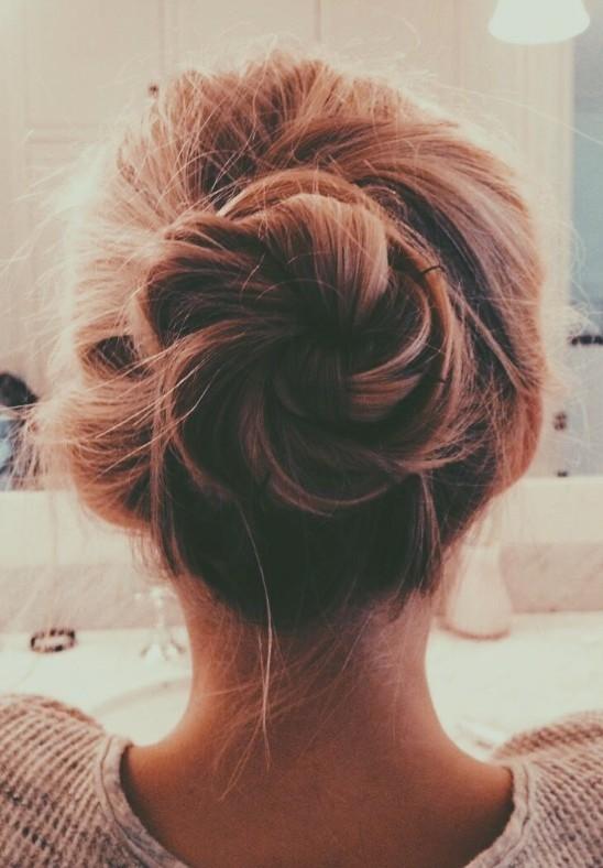 Kiểu tóc này có thể cải thiện mái tóc tơ.(Ảnh: Internet)