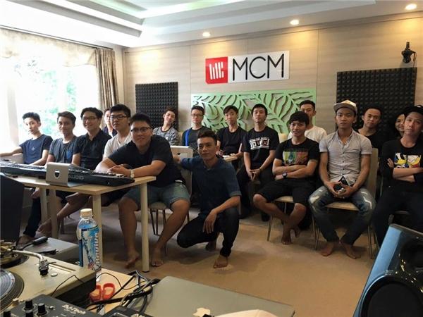 Workshop về Music Production vào tháng 7 vừa qua tại MCMA.