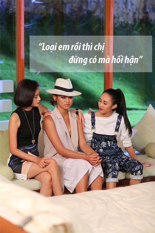 Mai Ngô cho rằng quyết định của Lan Khuê là sai lầm. May mắn vẫn mỉm cười với Mai Ngô khi cô được Hồ Ngọc Hà giữ lại trong vòng loại trừ ở cuối tập 4, đầu tập 5.