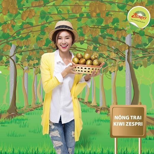Nhờ hệ thống Zespri nên Ngọc rất yên tâm về chất lượng của kiwi Zespri - Tin sao Viet - Tin tuc sao Viet - Scandal sao Viet - Tin tuc cua Sao - Tin cua Sao