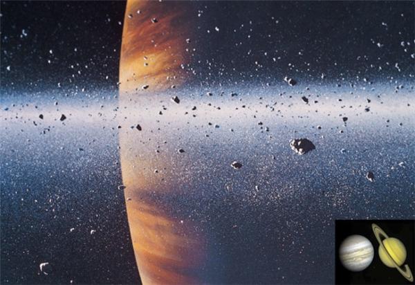 Xuất hiện mưa kim cương lên tới nghìn tấn ở sao Thổ và sao Mộc