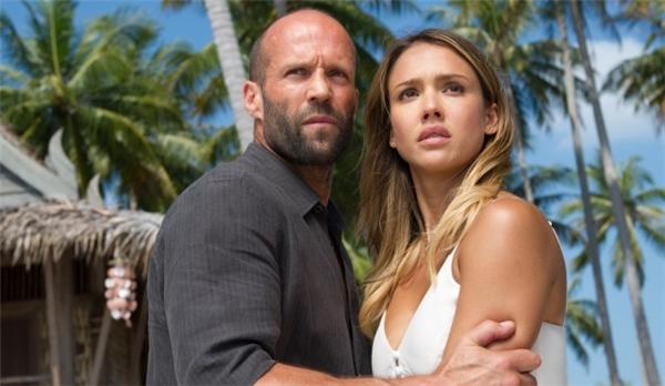 Tới đây, Jessica và Jason Statham sẽ đóng cặp trong phim điện ảnh Mechanic: Resurrection.