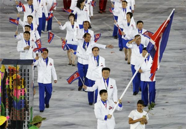 Đoàn Triều Tiên chỉđạt vị trí 34 trong bảng tổng sắp huy chương tại Olympic Rio 2016. (Ảnh: internet)