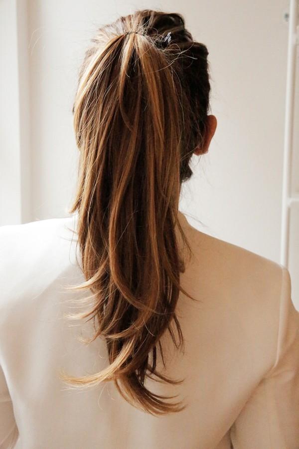 Những cô gái chọn kiểu tóc này thường là những người chững chạc. (Ảnh: Internet)