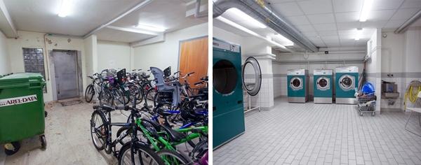 Một trong những đặc điểm khác biệt trong lối sống củangười Thụy Điển đó là cách sử dụng tầng hầm thông minh. Họ dùngchúng để giữ xe đạp, làmphòng giặt ủi và đôi khi cònbiến nó trở thành một phòng tập thể dục thực thụ.