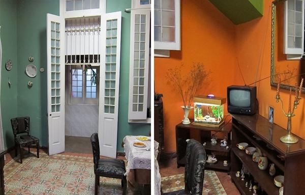 Nếu bạn được dịp đến thăm một ngôi nhà ở Havana, đặc biệt ở khu trung tâm thành phố, bạn sẽ cực kì ngạc nhiên trước cách bài trí nội thất thông minh là như thế nào. Được xây dựng theo phong cách thuộc địa, với trần nhà cao và đồ đạc cổ xưa, những ngôi nhà ở đây chẳng khác nào một kiệt tác thực sự.