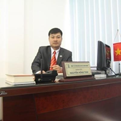 Luật sư Nguyễn Hồng Thái. Ảnh nhân vật cung cấp