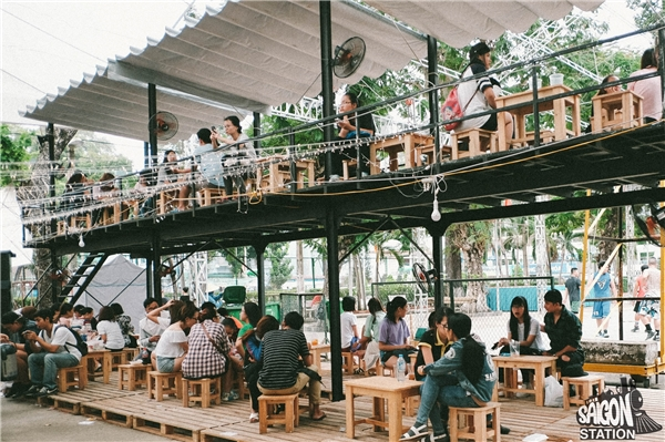 Nhắc đến Saigon Station mà bỏ qua trạm dừng chân 2 tầng nổi tiếng là mộtthiếu sót lớn.