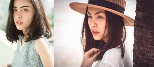 Hà Trúc (trái) và Hà Tăng.