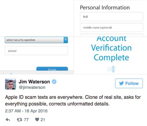 Cẩn thận với chiêu mới đánh cắp tài khoản Apple ID