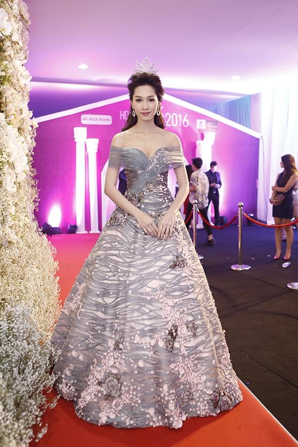 Hoa hậu Việt Nam 2012 Đặng Thu Thảo đảm nhiệm vai trò giám khảo của cuộc thi năm nay.