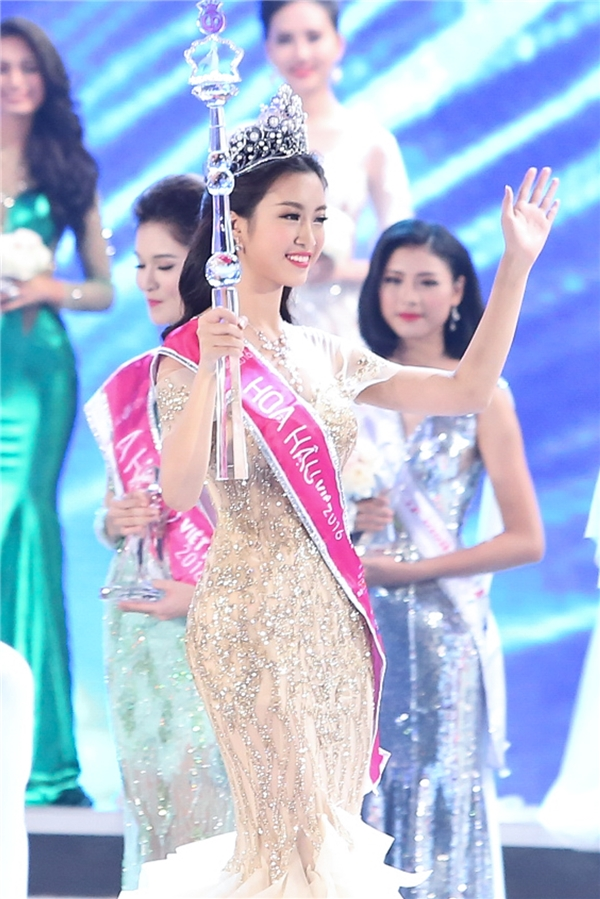 Đỗ Mỹ Linh đăng quang Hoa hậu Việt Nam 2016