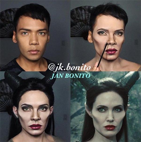 Angelina Jolie trongMaleficent