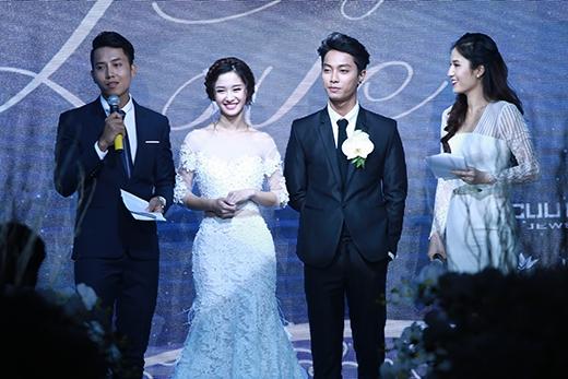 Jun Vũ cho biết, tuy đây chỉ là tiệc cưới mẫu nhưng cô cũng rất căng thẳng vì sợ phạm phải những lỗi không đáng có.